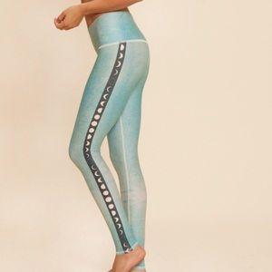 4d6342e2333ea4 teeki Pants | Hot Yoga Leggings Electric Nights | Poshmark